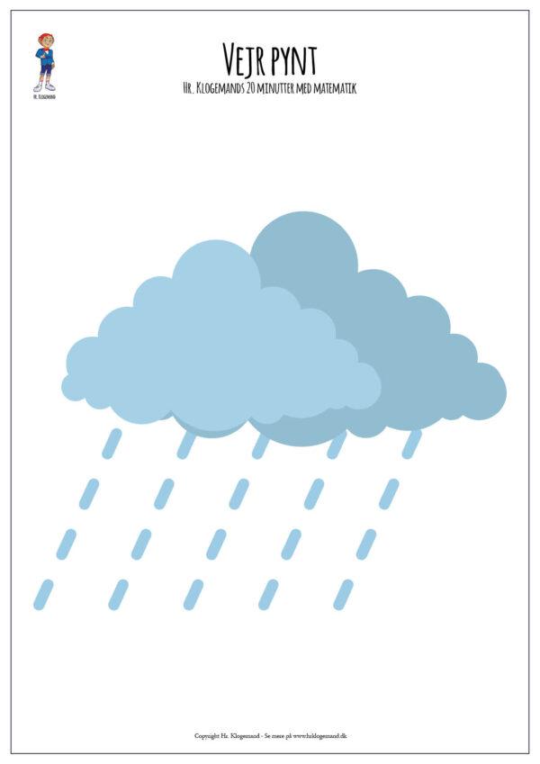 Vejret - pynt til Hr. Klogemands 20 minutter med matematik