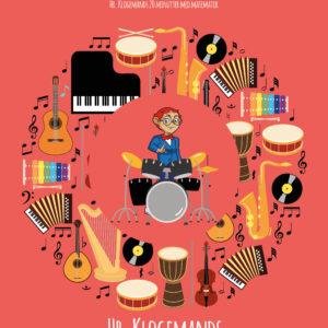 Matematik musik med Hr. Klogemand