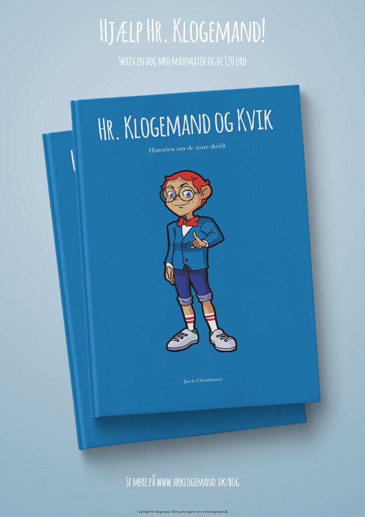matematik børnebog med de 120 ord fra hr. klogemand