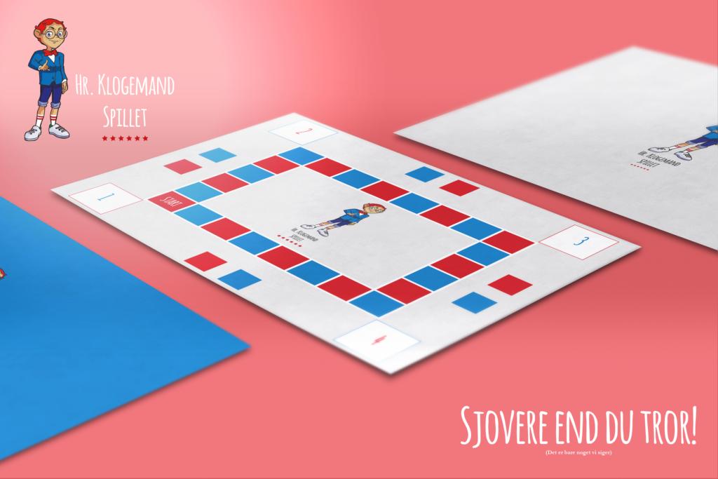 Brætspil fra Hr. Klogemand med masser af spørgsmål, svar og bonusinfo. Et megasjovt spil, der til tider kan være urimeligt.