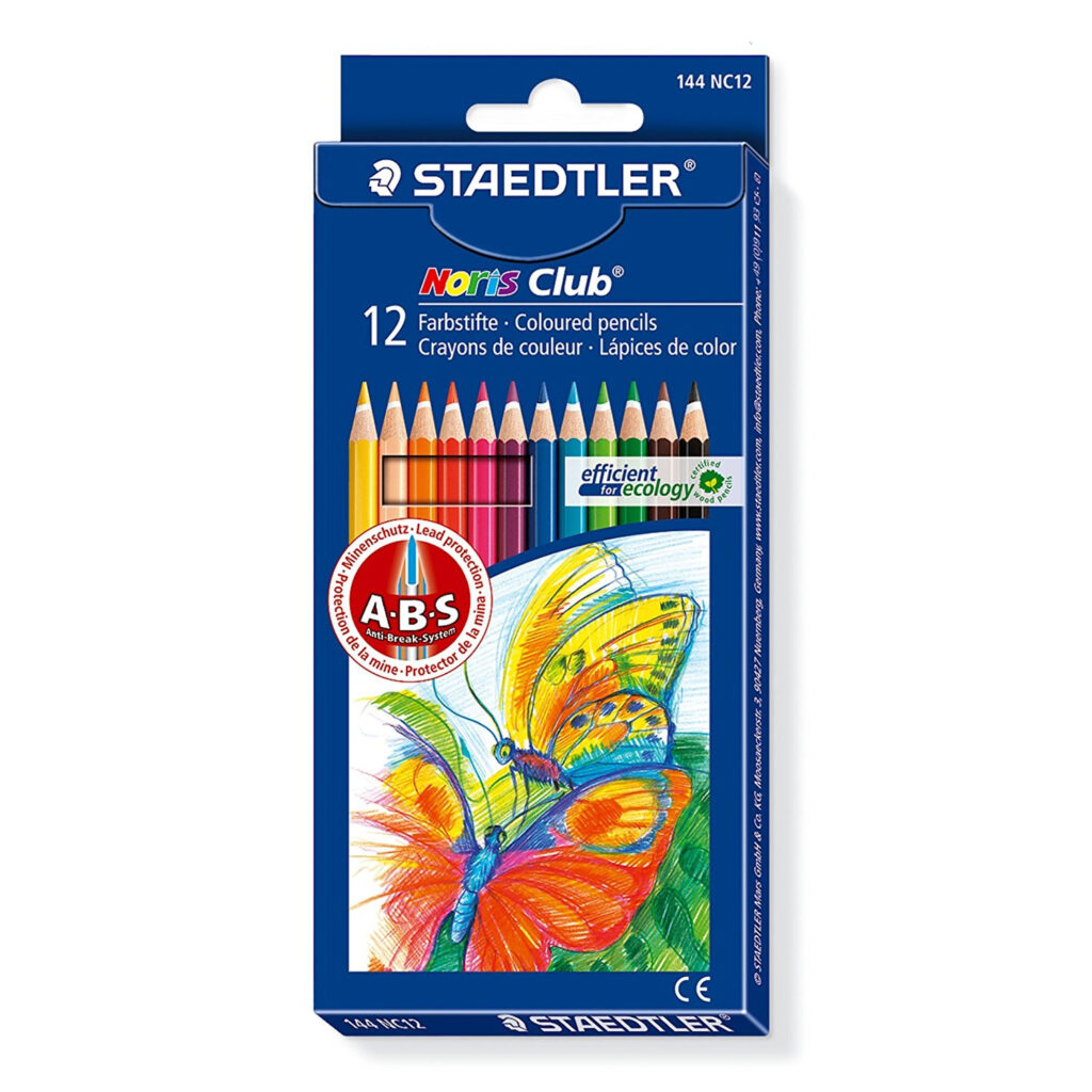 farveblyanter sæt noris staedtler 12 farver