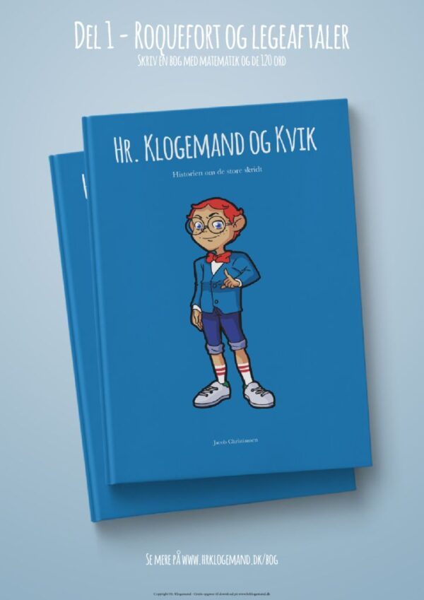thumbnail of Skriv bog med Hr Klogemand og de 120 ord – del 1 Roquefort og legeaftaler